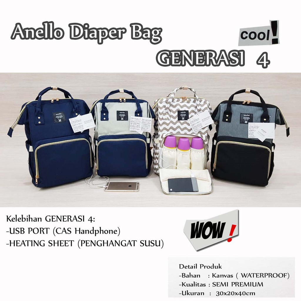 f9d9641ddbdcd1 Babygo inc backpack/ tas bayi / diaper bag/ tas bayi backpack | Shopee  Indonesia