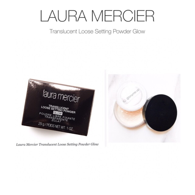 374684b23802 LAURA MERCIER Translucent Loose Setting Powder Glow