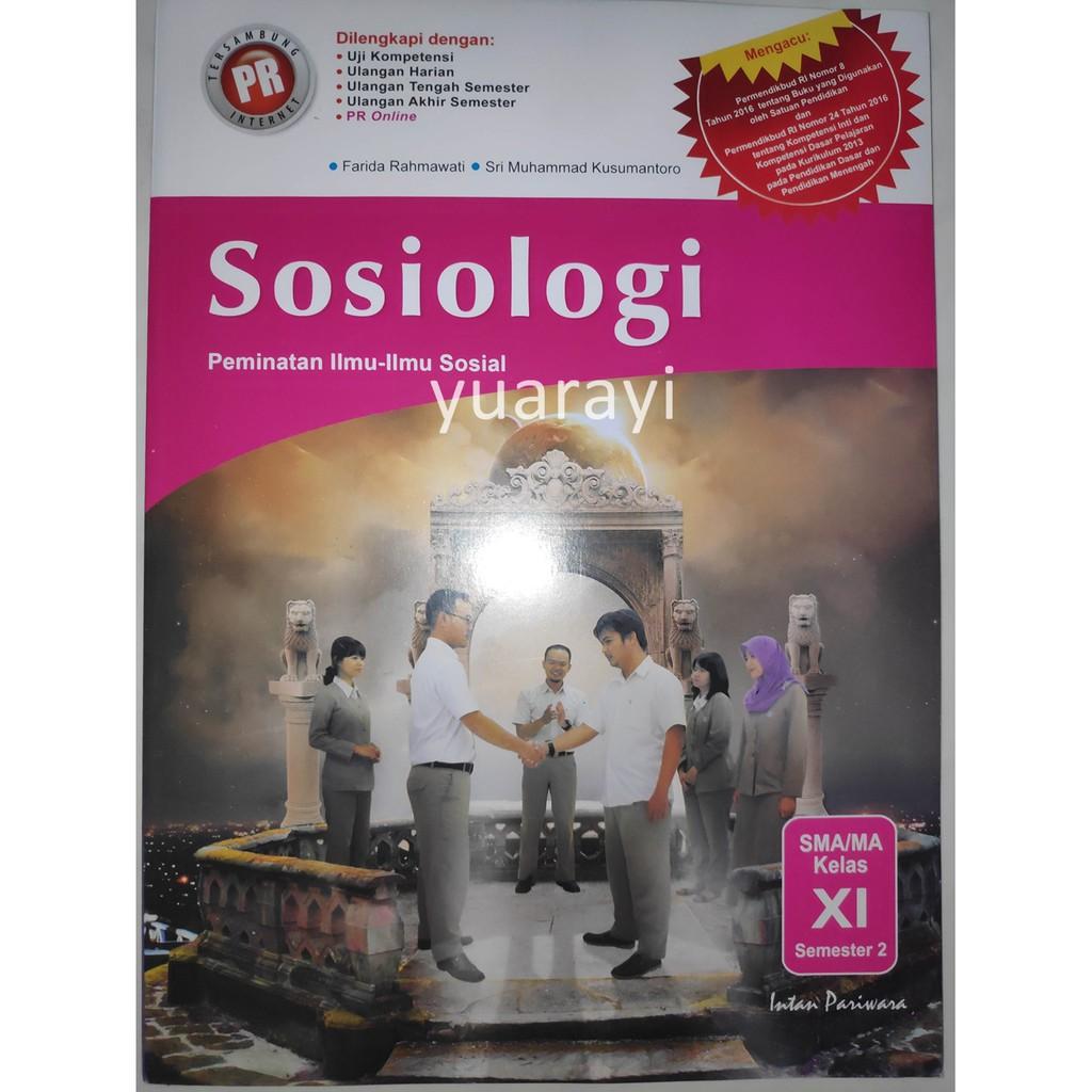 Lks Pr Sosiologi 11b K13 Intan Pariwara Shopee Indonesia