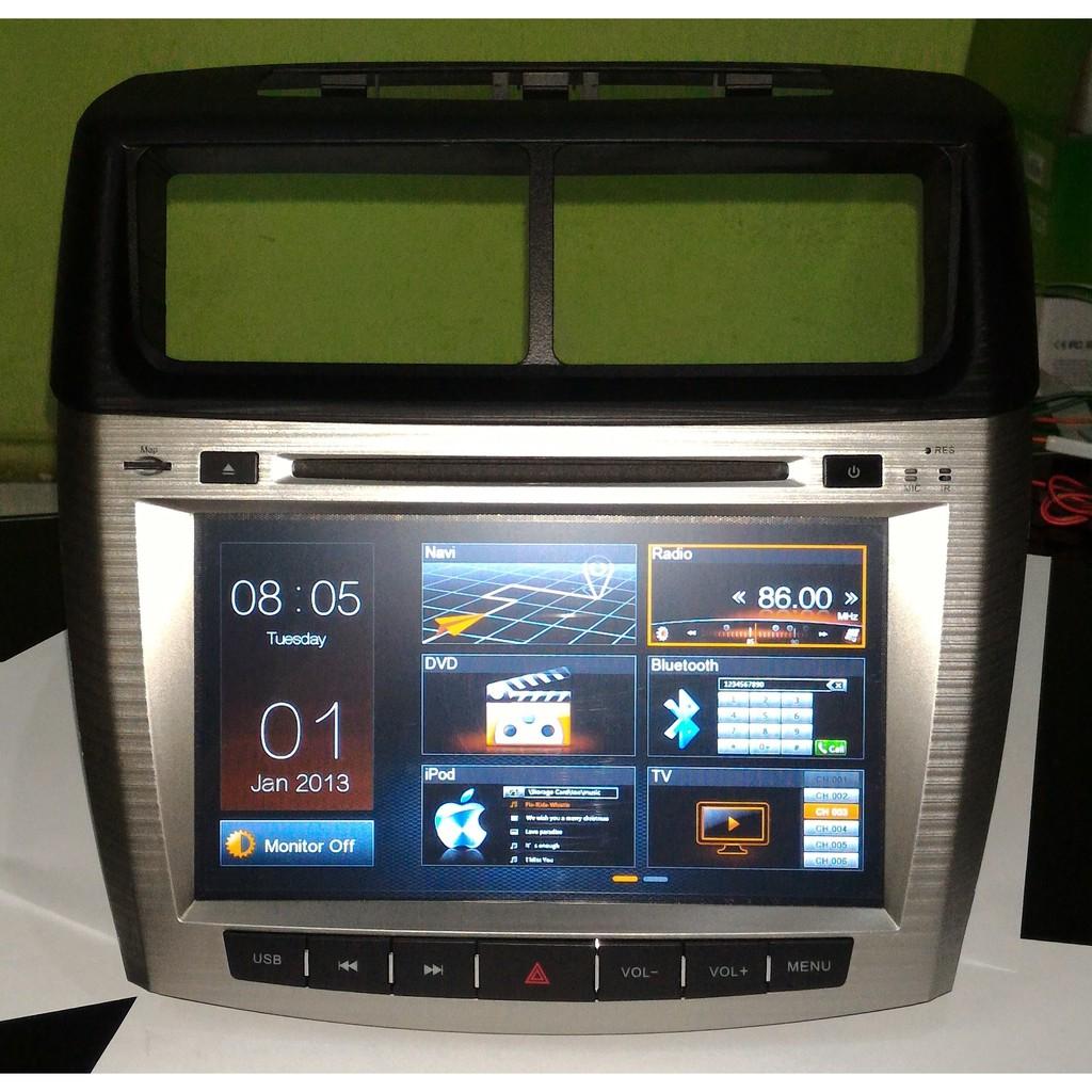 Tv Mobil All New Avanza Veloz New Xenia Gps Head Unit Double Din Full Hd 8 Inch Shopee Indonesia