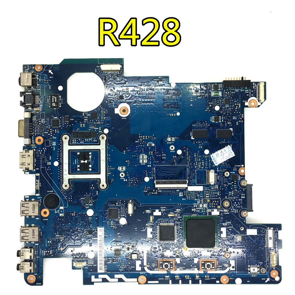 R428 R430 Laptop Motherboard Ba92 06003b Ba41 01216a Rev Mp1 4 Ddr3 With Graphic Card Full Test Shopee Indonesia