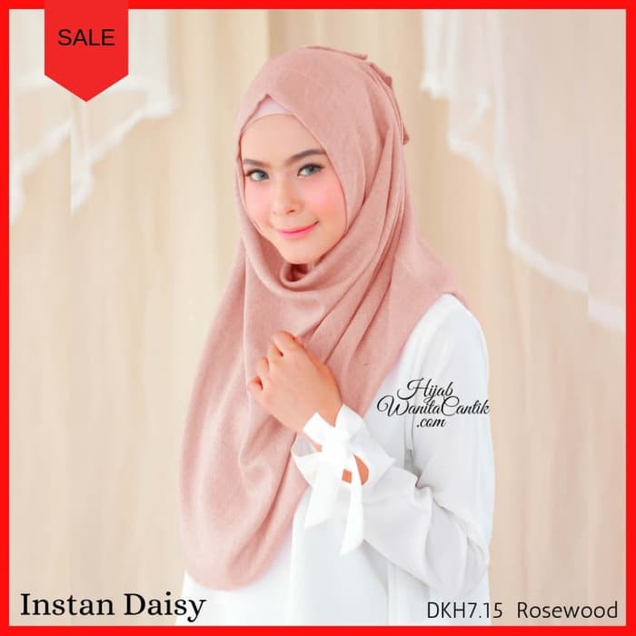 Pashmina Kerudung Ori Hijab Wanita Cantik Instan Giona Terbaru - Frozen Aqua | Shopee Indonesia