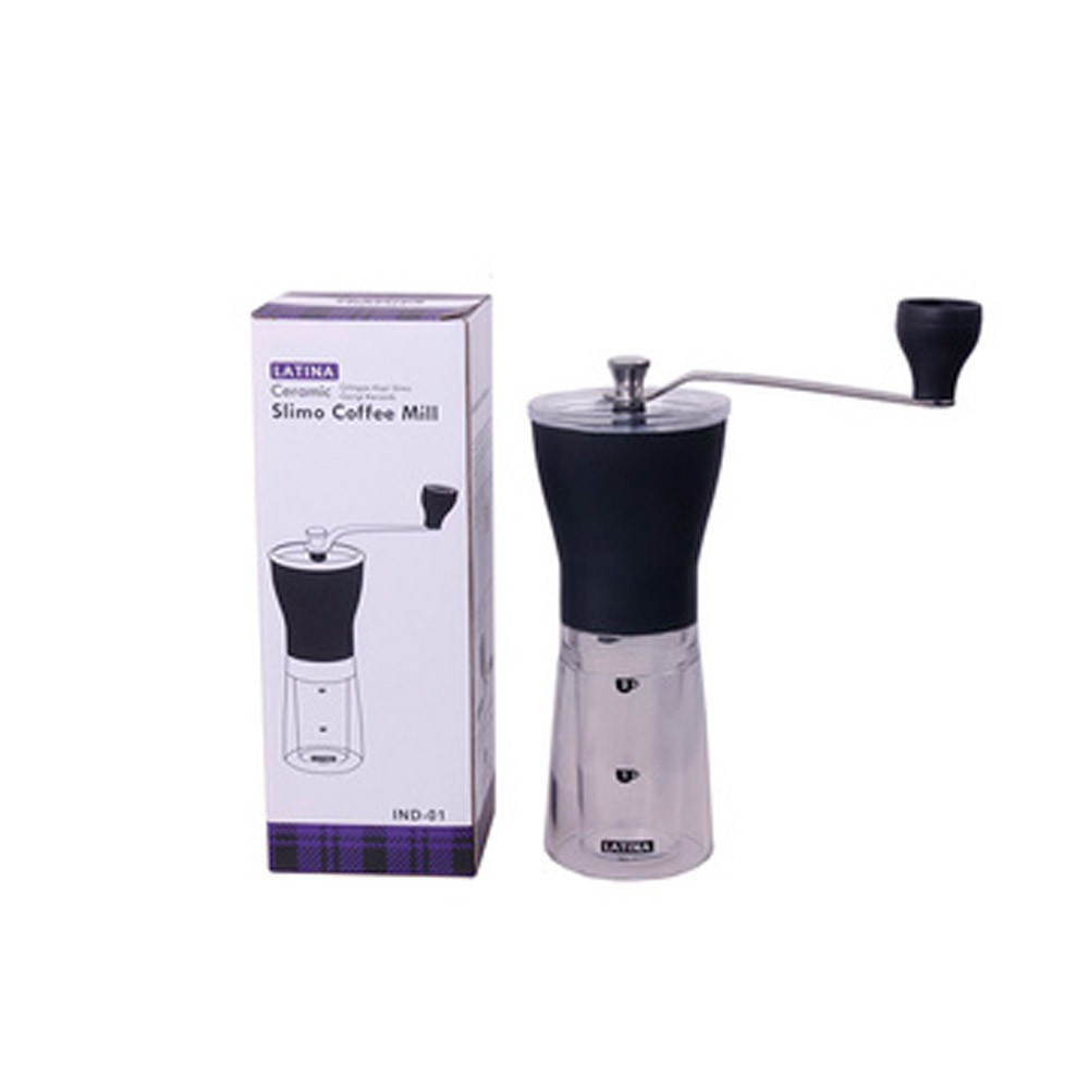 Otten Coffee Grinder With Glass Base Shopee Indonesia Welhome Zd 10 Conical Burr Timer Black