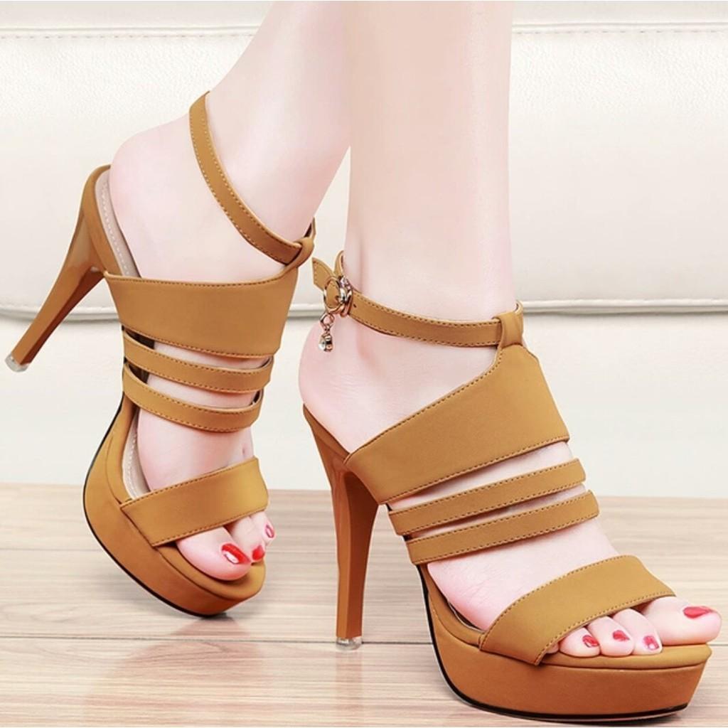 Toko Online Almaheera Gallery Shopee Indonesia Sandal Wedges Mr91 Cream