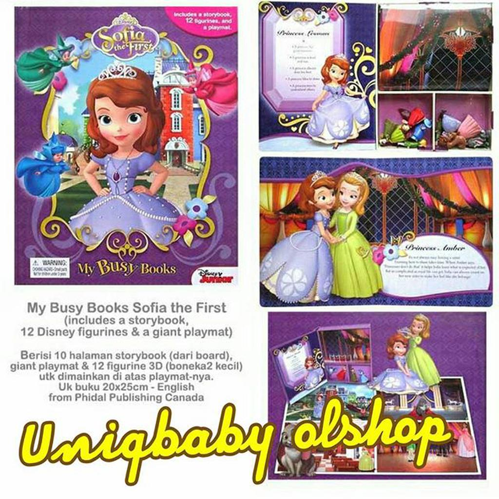 Activity book  Disney Junior Box of Fun Sofia the first bf068c9036
