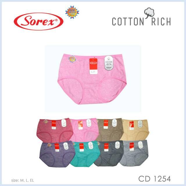 Celana dalam wanita sorex 1249 jumbo size besar murah berkualitas ... 84f1688983