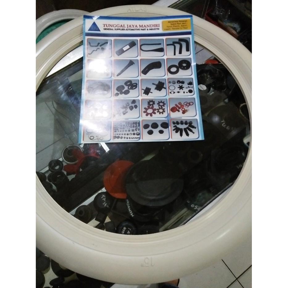 White Wall List Ban Mobil Ring 12 13 14 15 16 Shopee Indonesia Lis Wheels R14