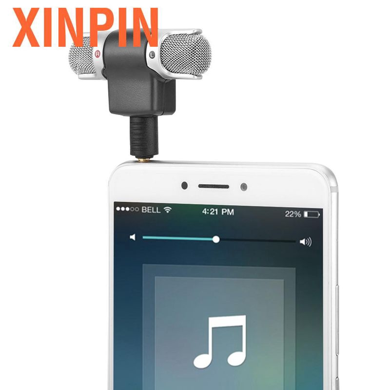 Xinpin 3 5mm Microphone Mini Mic Digital Stereo Professional Handheld External Wir Shopee Indonesia