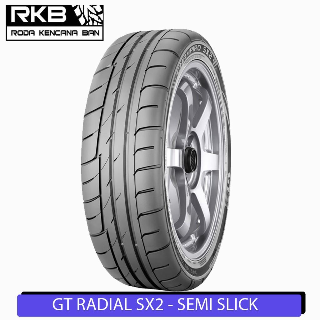 Gt Radial Champiro Sx2 195 55 R15 Ban Mobil Semi Slick Shopee Indonesia