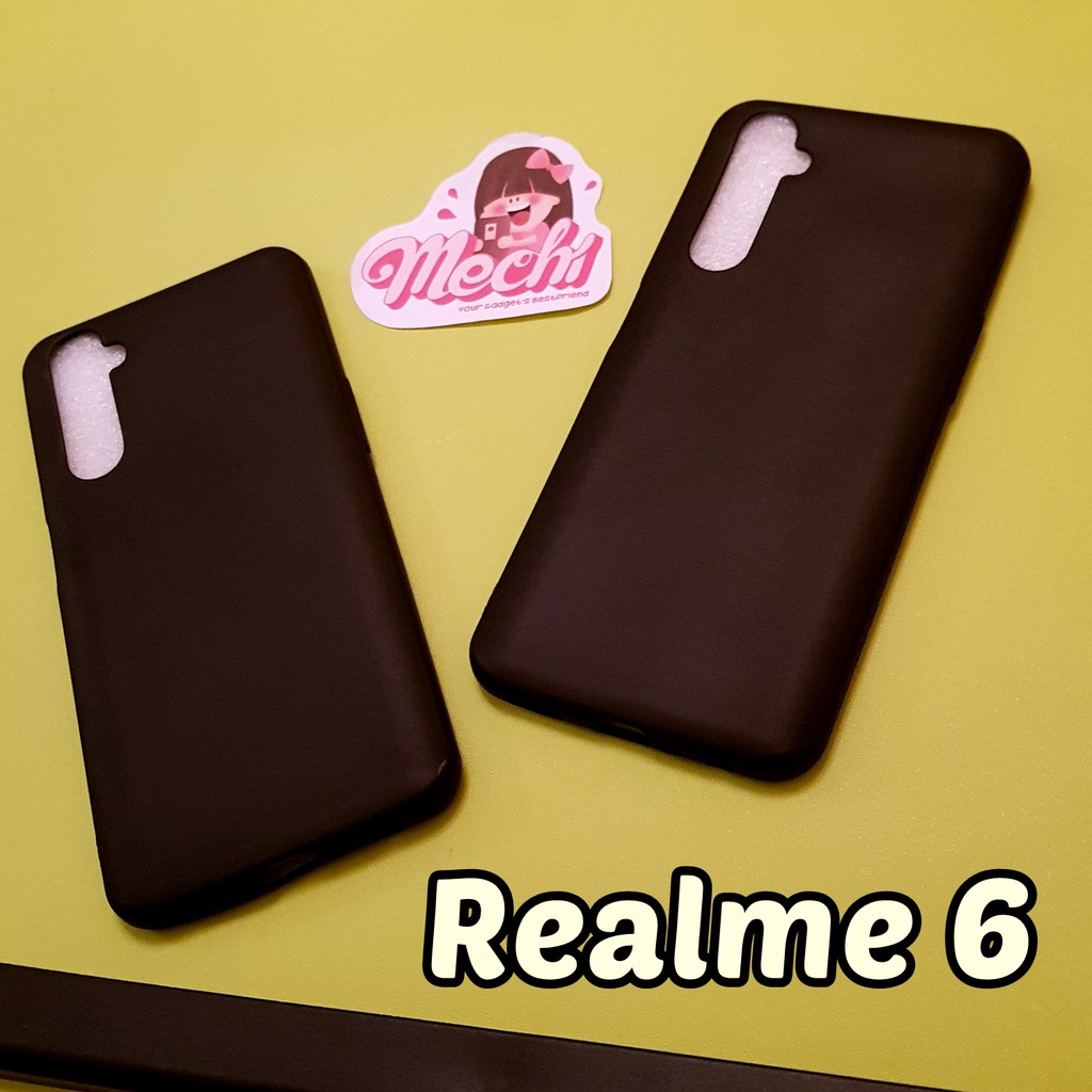 Case Realme 6 Realme 6 Pro Black Matte Lentur Softcase Silikon Hp Hitam Polos Karet Baby Skin Slim Shopee Indonesia