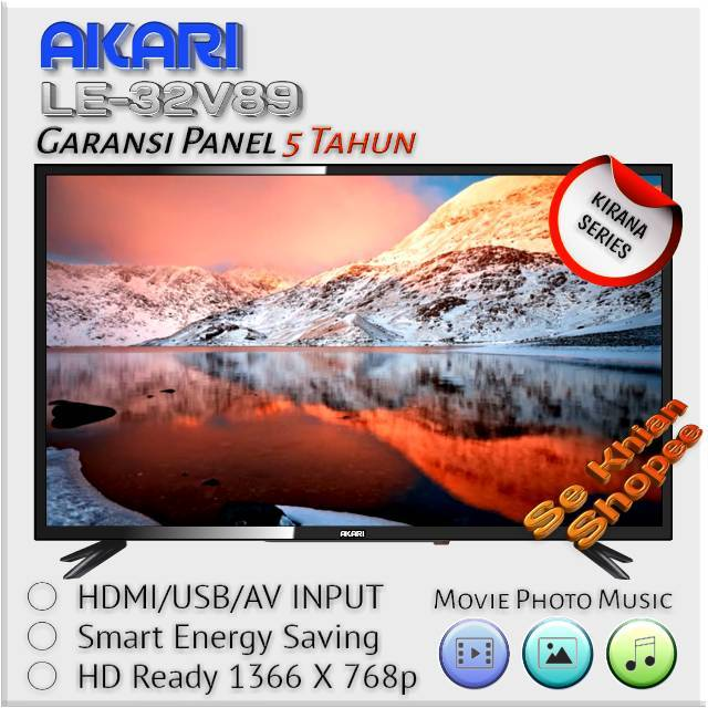 Tv Led Akari 32 Inch Shopee Indonesia