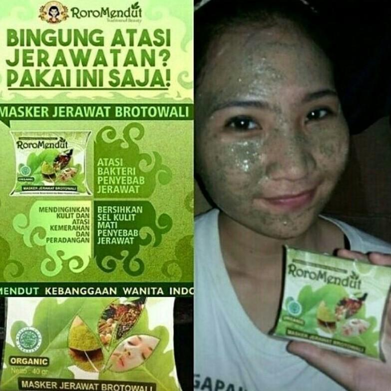 promo Roro mendut masker Brotowali Masker jerawat Terlaris   Shopee Indonesia