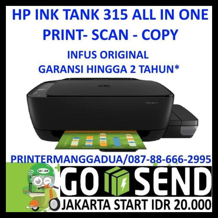 Cara Instal Printer Hp Ink Tank 315 Info Seputar Hp