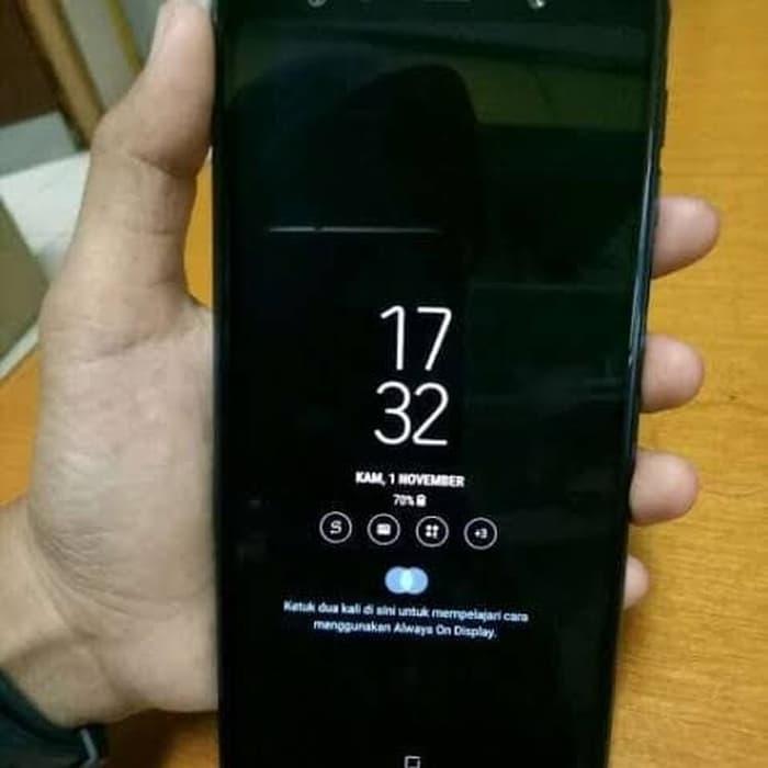 [Handphone Second] SAMSUNG A8 2018 SECOND HP Bekas