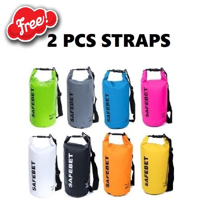 FIRSTPROJECT SAFEBET WATERPROOF DRY BAG 10 LITER (FREE 1 PCS TALI/SELEMPANG) | Shopee Indonesia
