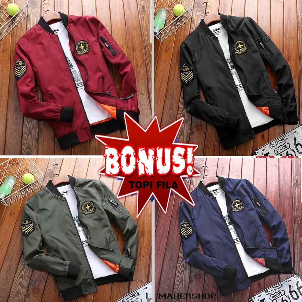 jaket boomber - Temukan Harga dan Penawaran Outerwear Online Terbaik -  Pakaian Pria Januari 2019  d23dbb2947