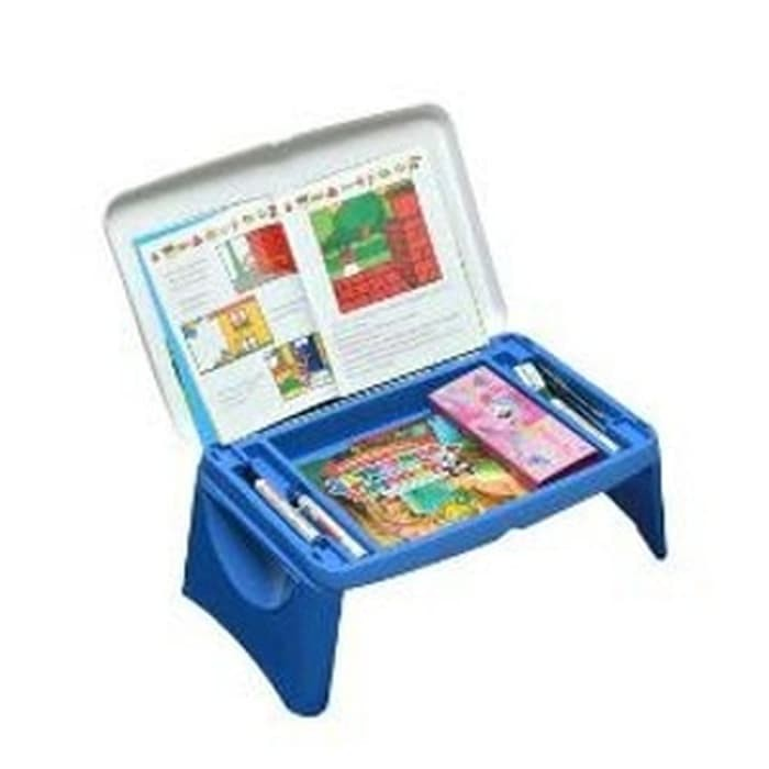 Meja Belajar Serbaguna Lesehan Lap desk Lapdesk Anak Kecil Lipat Drawing table princess frozen elsa | Shopee Indonesia