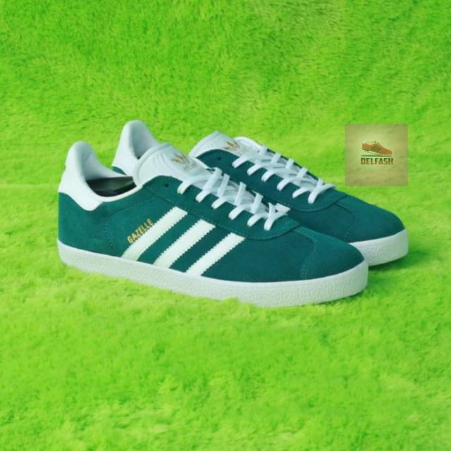 Sepatu Adidas Gazelle Ii Green White Original Bnwb Indonesia