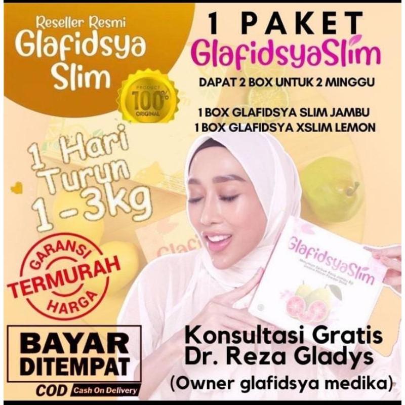 GLAFIDSYA SLIM & GLAFIDSYA X SLIM