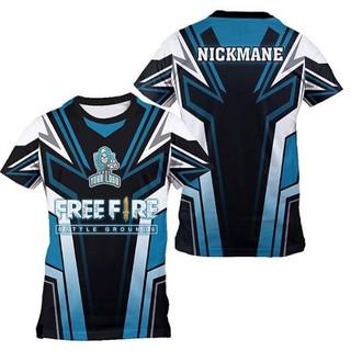 Jersey Kaos Baju Gaming Free Fire