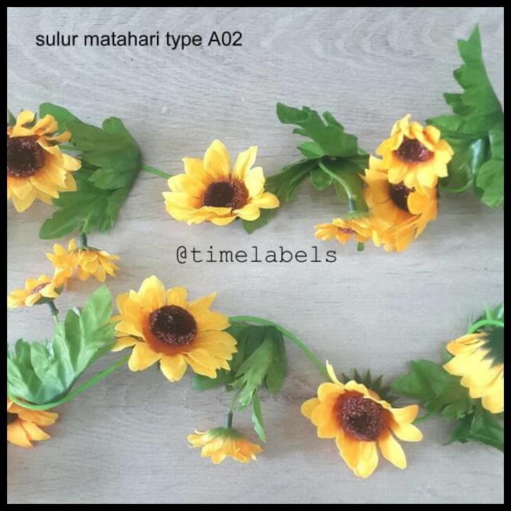 Jual dekorasi bunga mawar kuning artificial / tanaman rambat plastik sulur shabby chic | Shopee Indonesia
