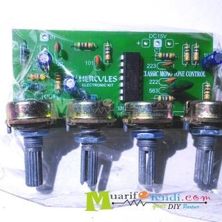 Kit Tone Control Mono Super Bass + Midle IC LM324 Tipe250