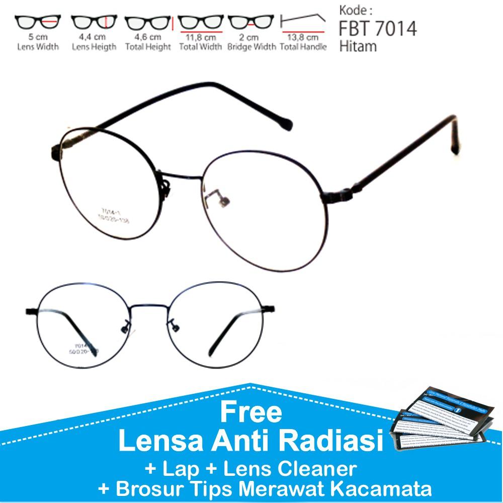 Best Promo! Paket Frame Kacamata Minus Plus Anti Radiasi Pria ... 583d82a97a
