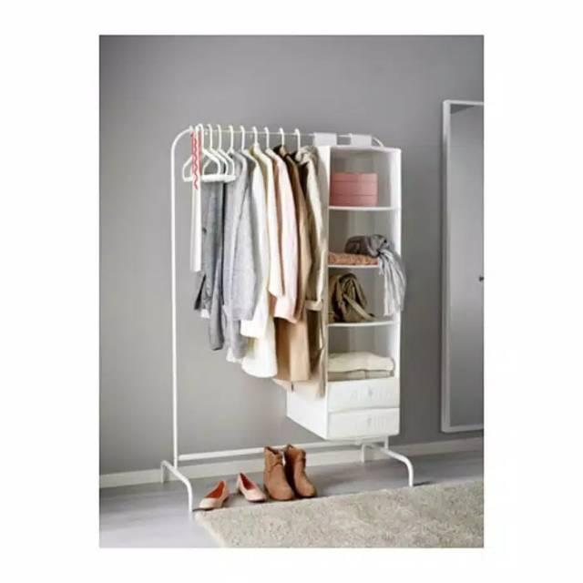 Ikea Rak Gantungan Baju Celana Bazar Ikea Mulig Lemari Pakaian Pameran Hanger Shopee Indonesia