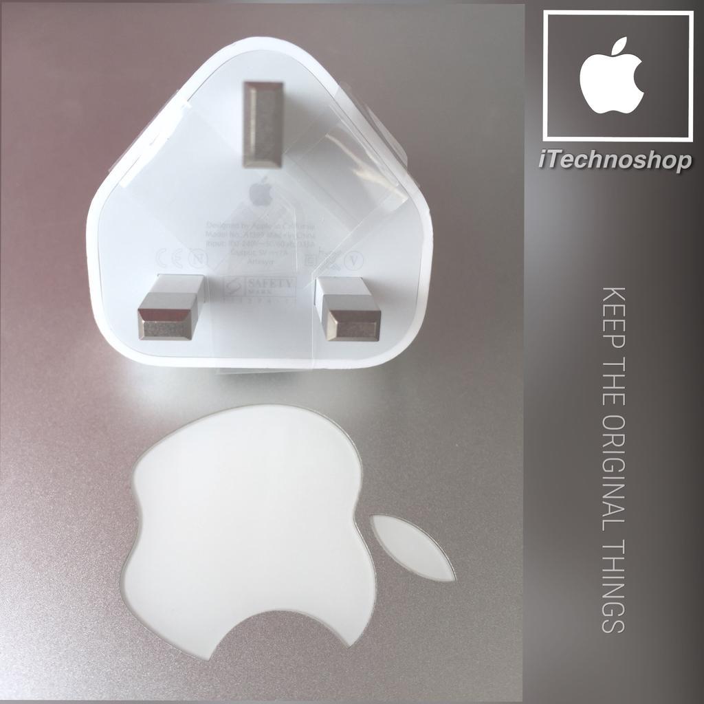 super popular d3b83 9e0ef  Apple Charger Adaptor International Original iPhone iPod Kaki 3
