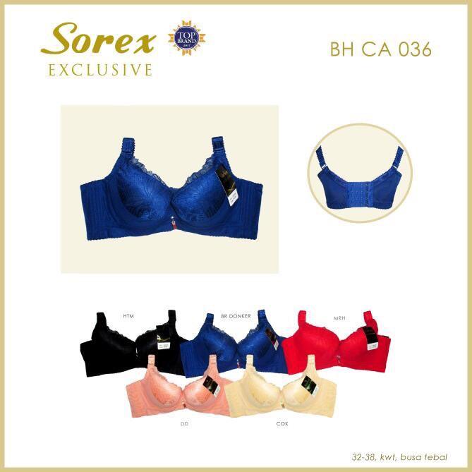 Bra bh CA 036 Sorex exclusive penekan lemak  5b70a97c35