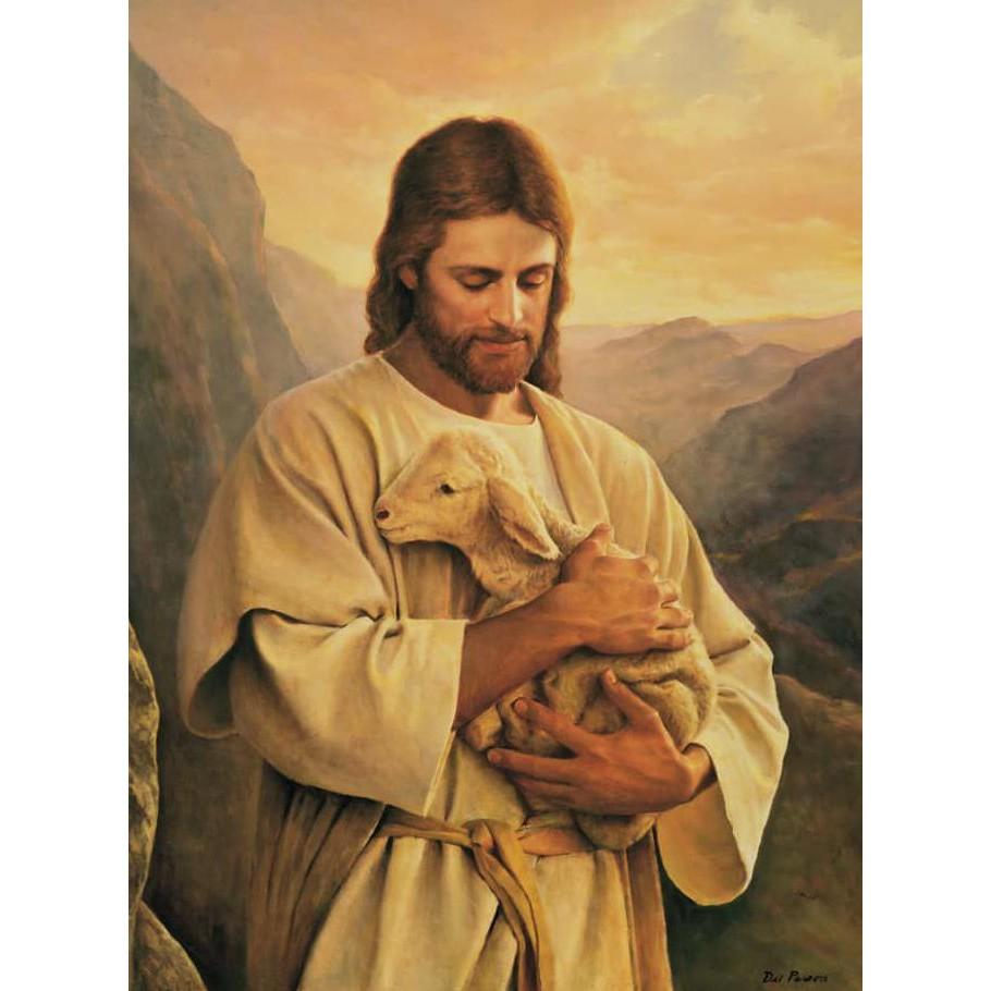 Liw7 Repro Digital Wajah Yesus Kristus Tuhan Lukisan Gambar Wwe1 Shopee Indonesia