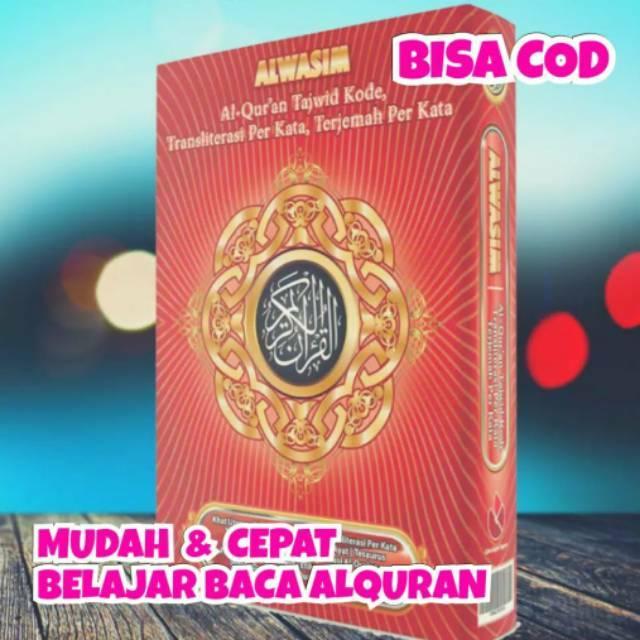ORIGINAL Al Qur'an Terjemahan Perkata Lengkap ukuran BESAR