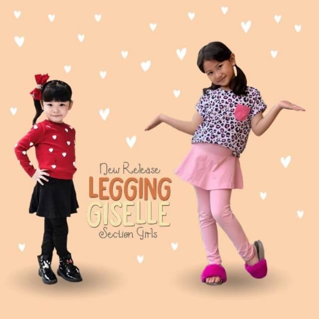 Bop Giselle Legging Skirt Setelan Rok Celana Anak Perempuan Lucu Legging Anak Polos Shopee Indonesia