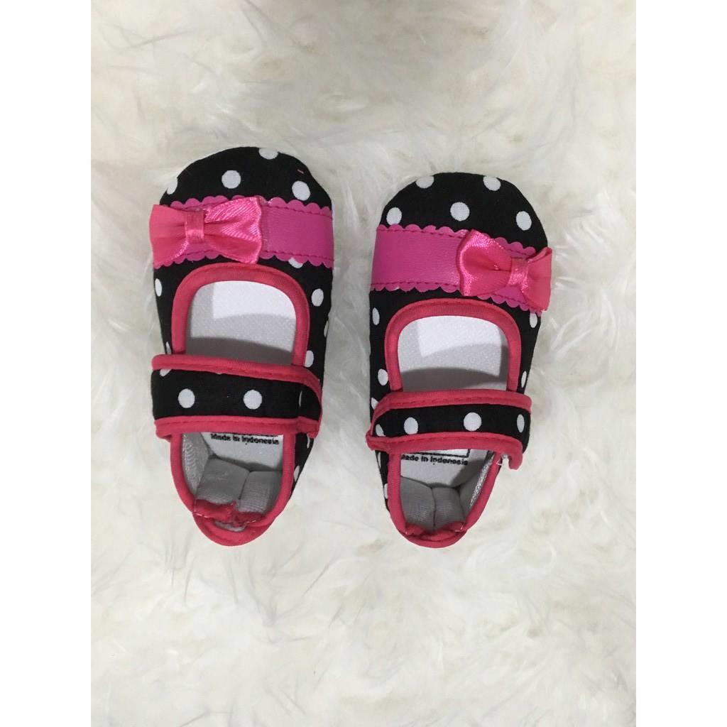 Sepatu Bayi Skiders Rajamarket Shopee Indonesia Lustybunny Baby Shoes Prewalker Ps 8373 2 Hitam