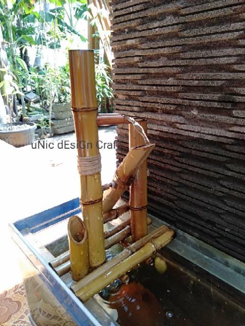 Air Mancur Bambu Tik Tok Jungkat Jungkit Bisa Dengan Power Bank Atau Listrik Shopee Indonesia