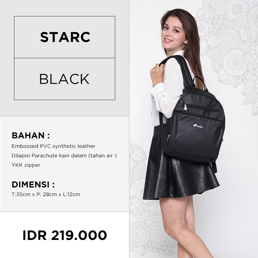 Pulcher Temukan Harga Dan Penawaran Online Terbaik September Tas Ransel Selempang Cross Body Bag Kulit  Zayn Black 2018 Shopee Indonesia
