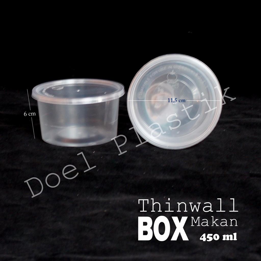 Sale Thinwall 750 Ml Food Container Box Tempat Kotak Makan Plastik 1500 Thinwal  Thin Wall Per Pcs Murah Shopee Indonesia