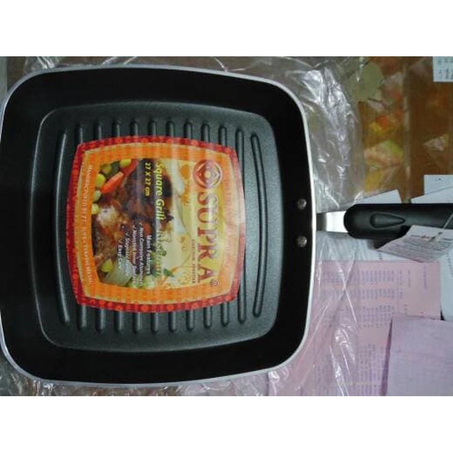 991426adc33d Jual PANGGANGAN BARBEQUE SUPRA SQUARE DEEP GRILL 30 CM ROSEMARY TEFLON  Berkualitas