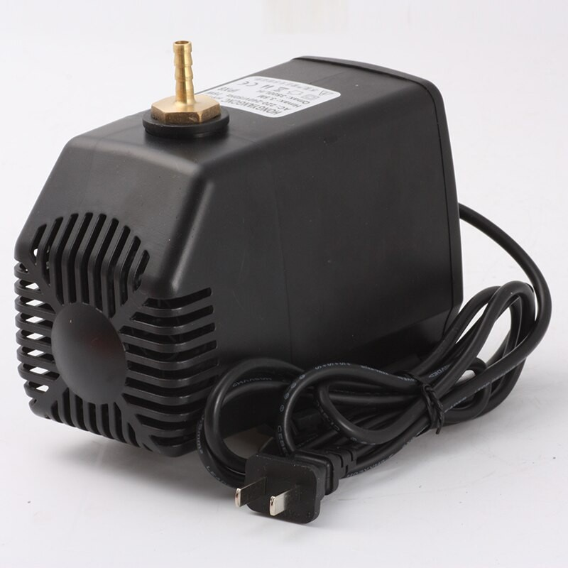 80W 3.5m Cooling Submersible Water Pump 220V For Spindle Motor Engraving Machine