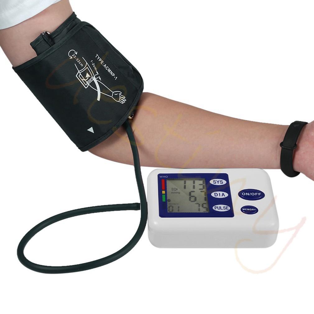 Tensimeter Pengukur Tekanan Darah Digital Otomatis Dengan Layar Lcd Alat Kesehatan Tensi Blood Pressure Monitor Shopee Indonesia