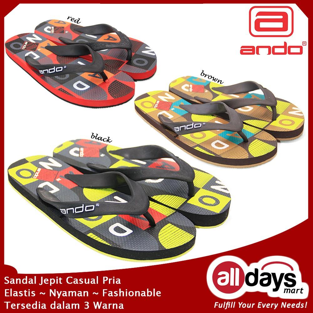Sepatu Ando Daftar Harga November 2018 Carvil Casual Men Nomad Black Hitam 42 Sandal Jepit Pria Hawaii Cool 05 Size 38
