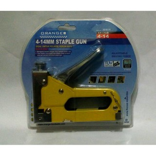 STAPLES TEMBAK ORANGE JAPAN / GUN TRACKER / BANNER , SPANDUK , JOK. habis