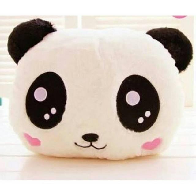 Bantal kepala panda bantal panda pillow boneka panda  df0d4e133c