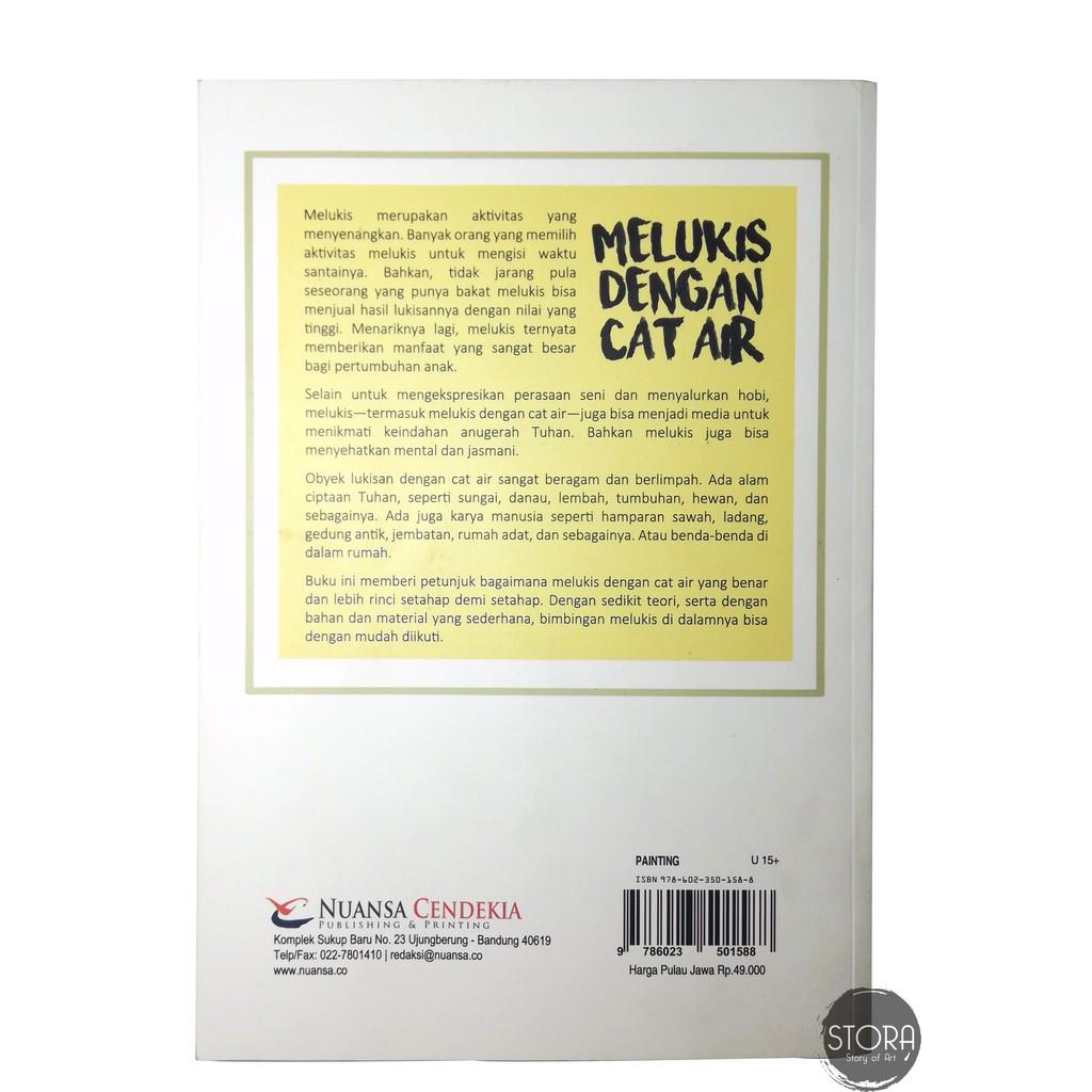 Buku Melukis Dengan Cat Air Menyenangkan & Menyehatkan
