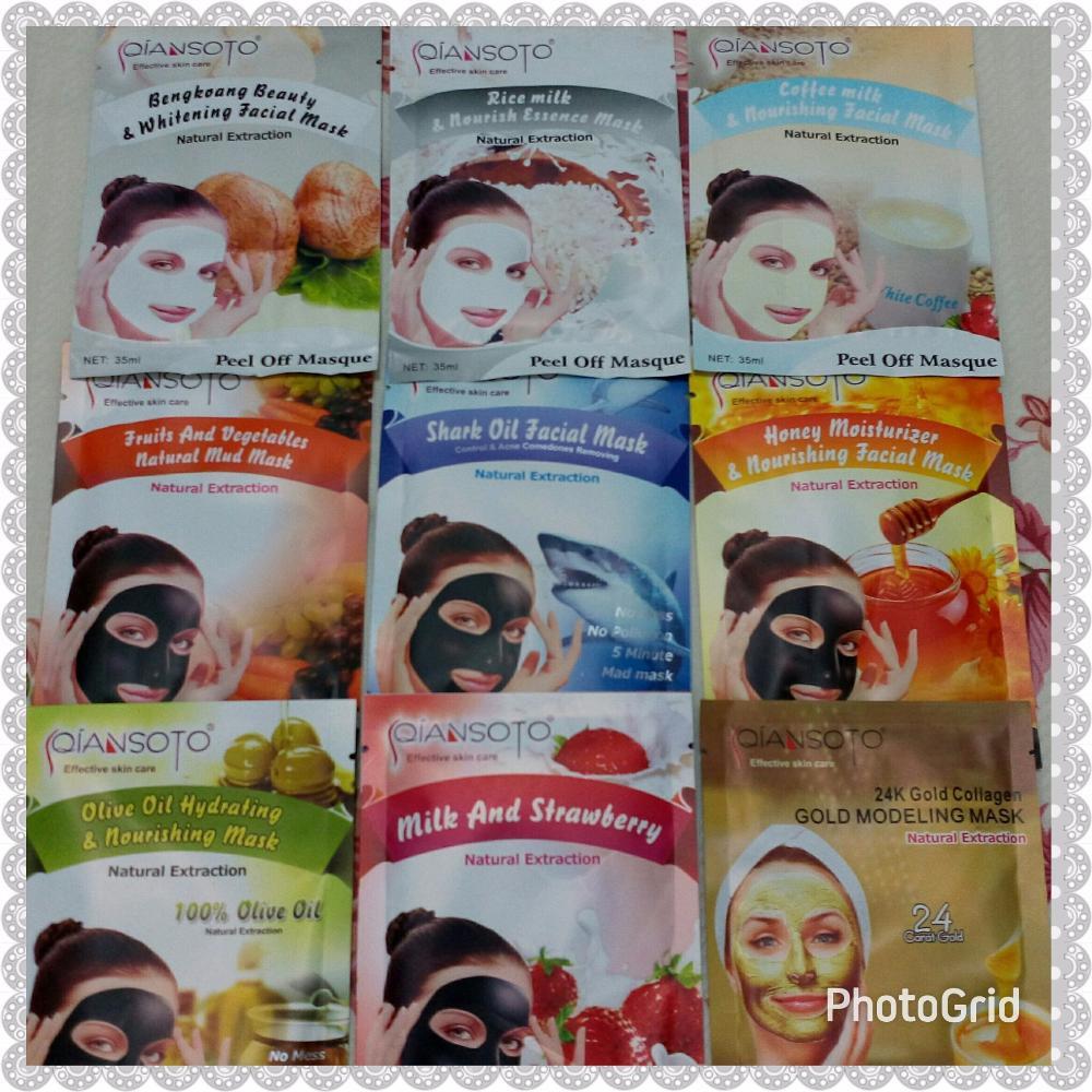 Qiansoto Masker Wajah Shopee Indonesia