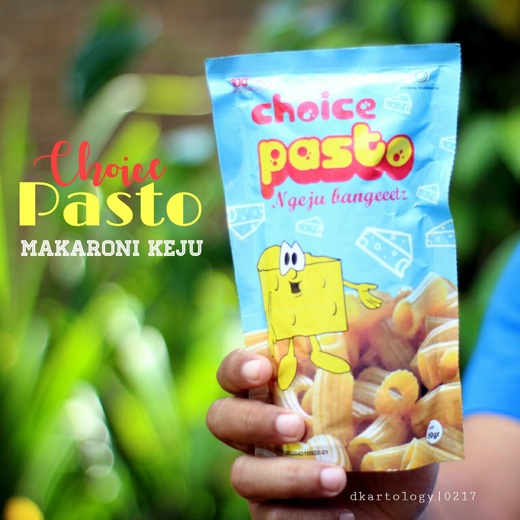 Choice Pasto Snack Pasta Keju Shopee Indonesia Makaroni Kemasan Box Office