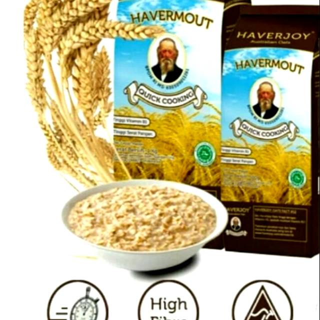 HAVERMOUT HAVERJOY QUICK COOKING 1KG/100% SEREAL OAT AUSTRALIA | Shopee Indonesia