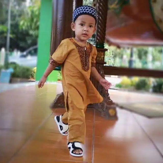 Size 1 10 Tahun Set Koko Anak Setelan Koko Turki Risalah Baju Koko Anak Laki Laki Shopee Indonesia