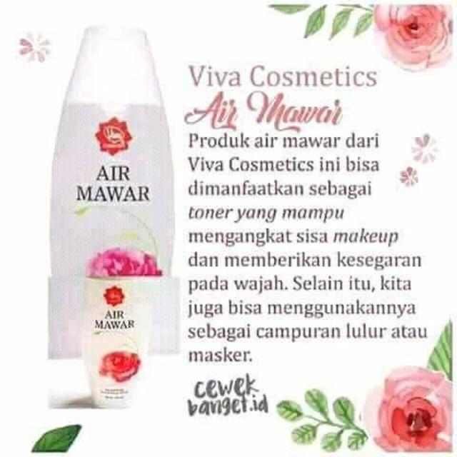 Air Mawar Viva Ori Shopee Indonesia