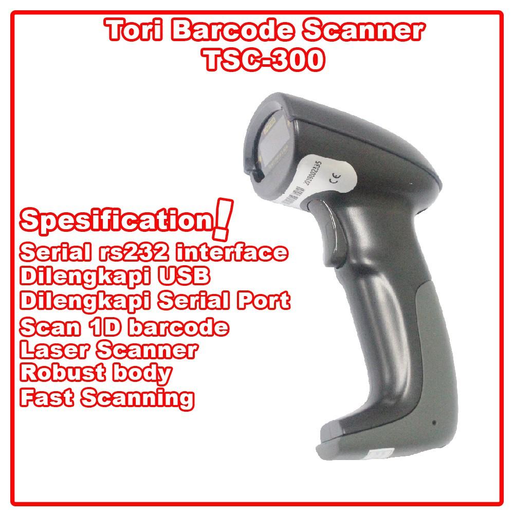 Tori Barcode Scanner TSC-300